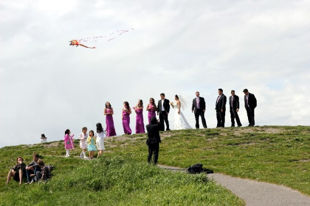 Wedding, Gasworks Park, Seattle